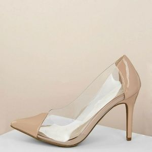NEW🔥 Pointy Toe Stiletto High Heel Pump Sandals